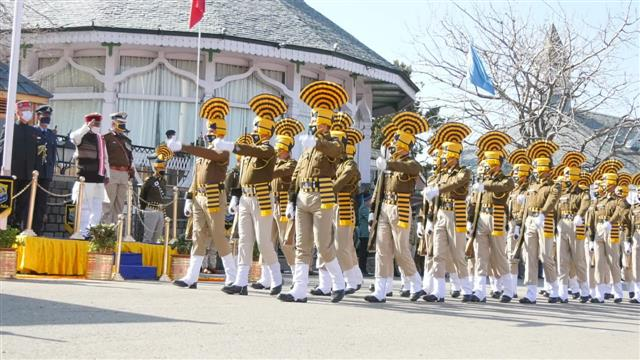 Republic Day celebrated in Himachal amid chill