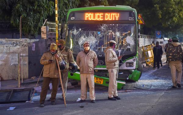 Delhi Police register four FIRs in connection with farmers' tractor parade