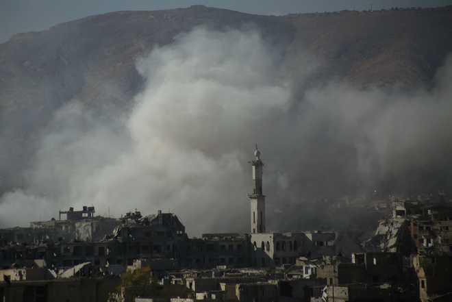 Syria says four dead in first Israeli strike since Biden took office