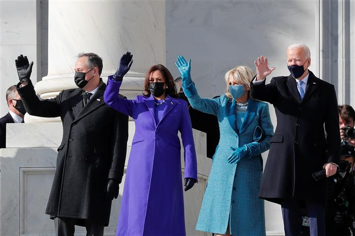 LIVE: Joe Biden, Kamala Harris arrive for historic inauguration at US  Capitol