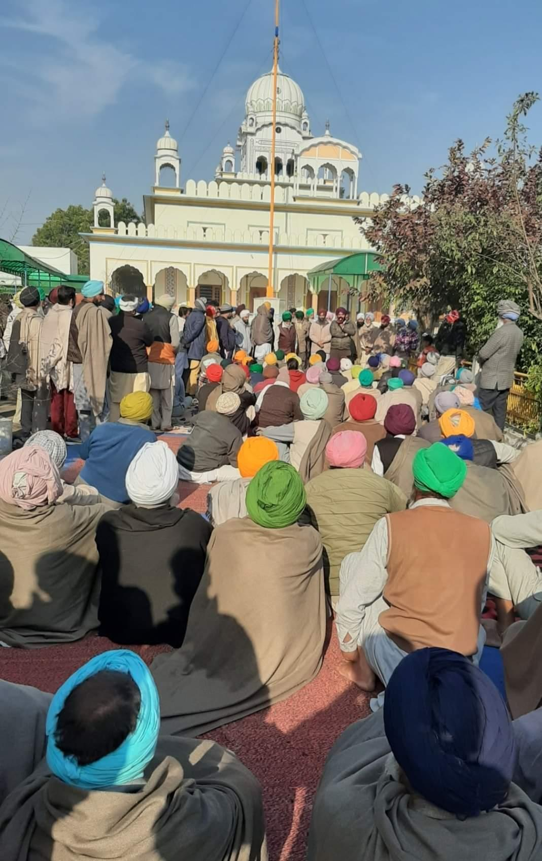 1 family member at protest site: Villages in Bathinda, Mansa pass resolution to revive farmers' agitation