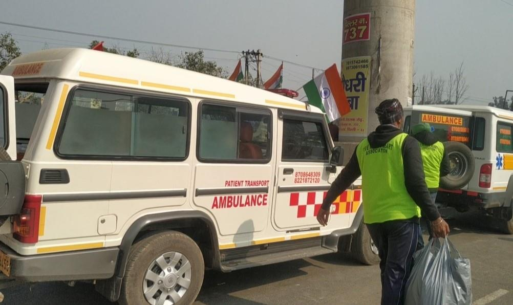 Tractor parade: 32 ambulances to extend medical aid at Tikri border