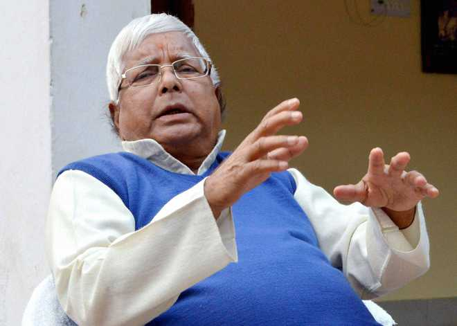 Lalu Prasad admitted to Delhi's AIIMS after health condition deteriorates