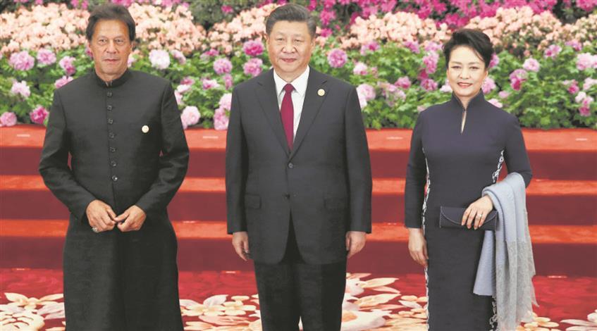 Imran Khan's China embrace