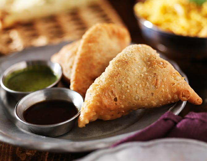 The samosa that went to space