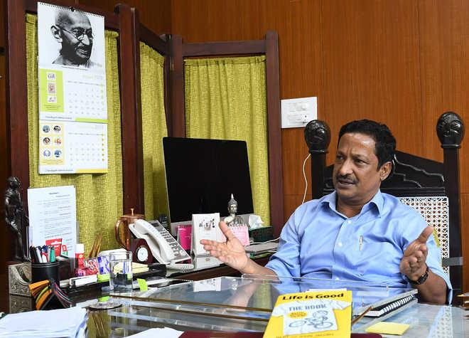 Chandigarh will soon become a bin-free city: UT Adviser Manoj Parida