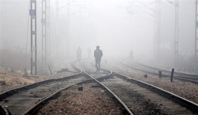 Cold weather conditions continue in Punjab, Haryana