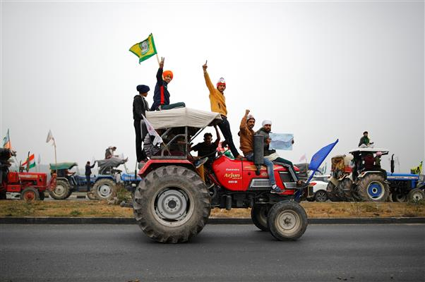 Punjab student travels from US to stand with farmers