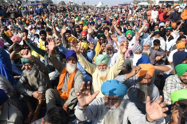 Undeterred by cold weather and rain, farmers threaten to further intensify stir