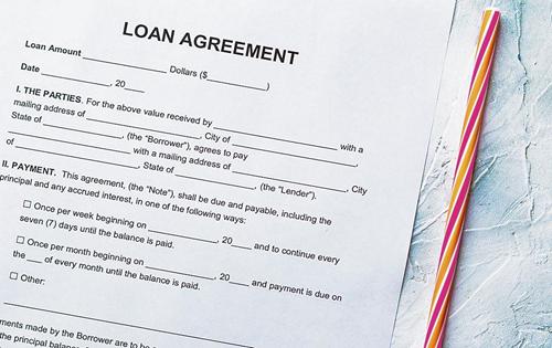 Pay loan interest you chose