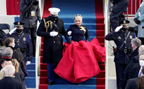 Lady Gaga, Tom Hanks bring star power to emotional, multicultural Biden inauguration