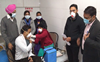 Covid vaccine: Doctors build confidence by turning first at Punjab's Abohar hospital