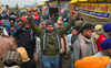 Farmers from Punjab reach Singhu in groups