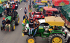 Tractor rally at 3 sites, barriers to go
