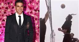 Akshay Kumar celebrates Army Day, plays volleyball with 'bravehearts'; watch video