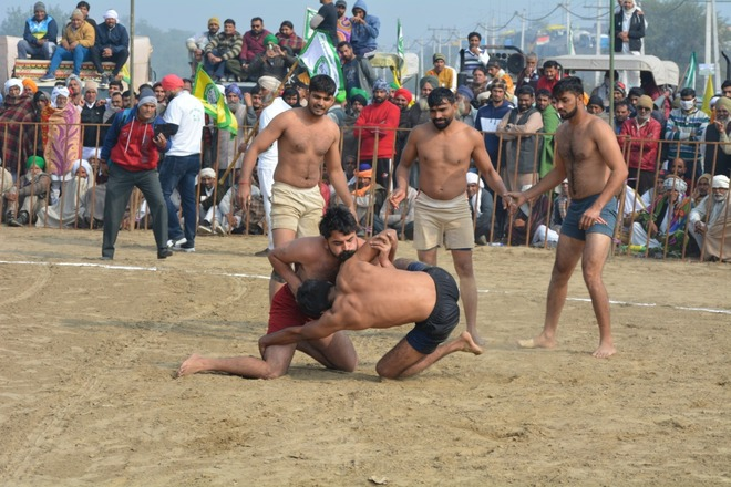 Two-day kabaddi meet in support of farmers begins at Tikri border