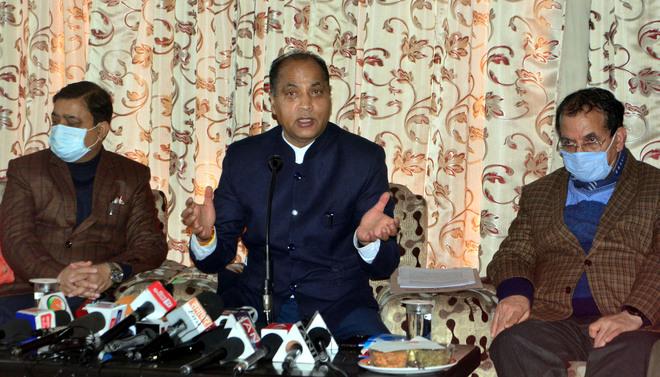 3 new MCs BJP's gift to Himachal: Chief Minister Jai Ram Thakur