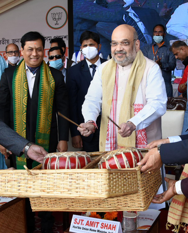 Amit Shah: Will ensure flood-free Assam