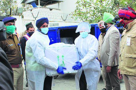 Punjab receives 20,450 vials of Covishield