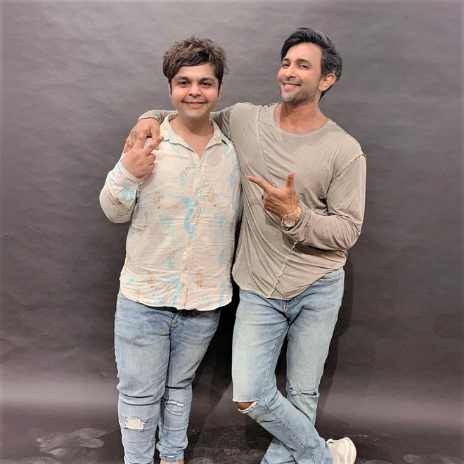 Choreographer Terence Lewis collaborates with celebrity photographer Amit Khanna