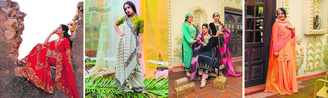 From bright colours to warm outfits, here are some fashion tips to jazz up your look this Lohri