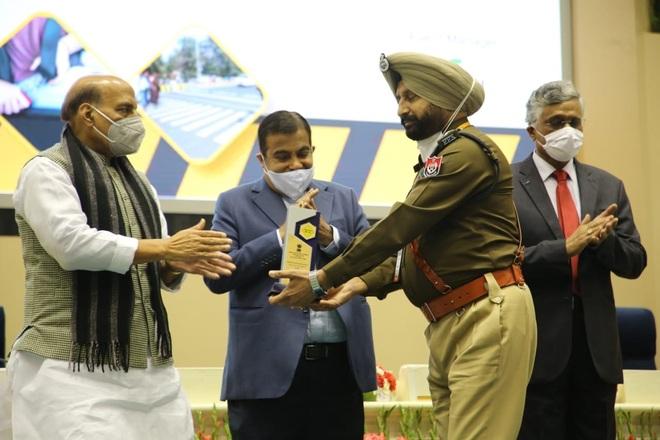 National award for ACP Gurdev Singh