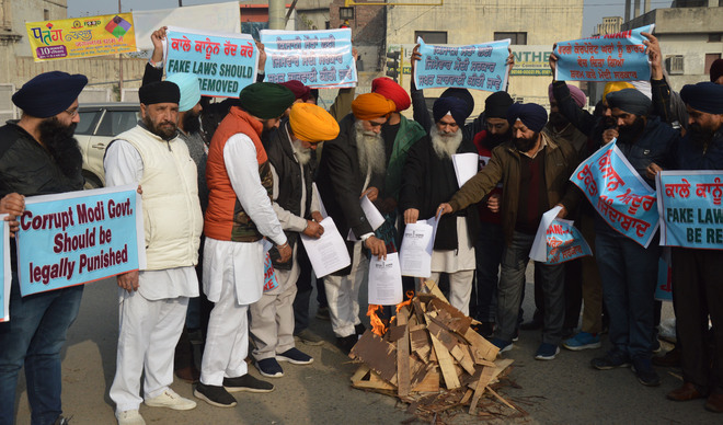 Students' body blames Centre for deaths of protesting farmers