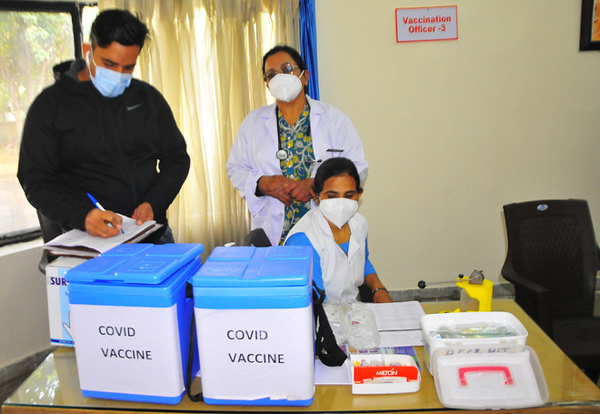Haryana gets 2.41L doses of vaccine