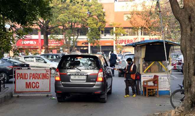 Come February, hourly fee at all smart parking lots in Chandigarh