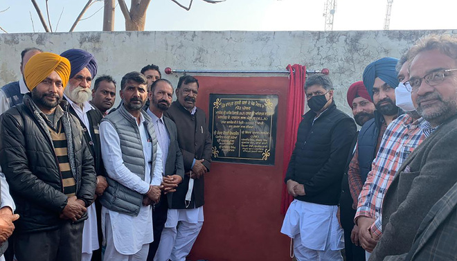 Major projects launched in Rahon & Banga