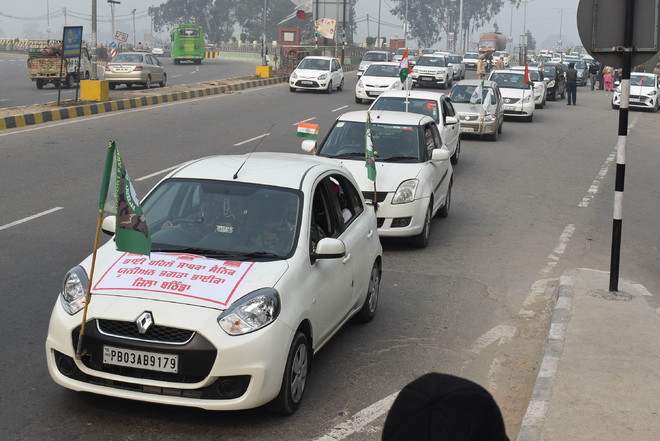 Ex-servicemen road show in support of farmers