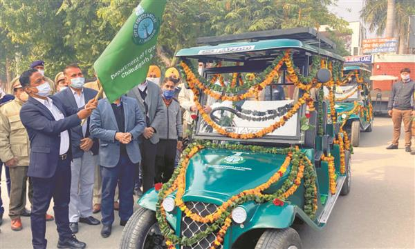 Solar carts to help sight migratory birds at Chandigarh's Sukhna Lake