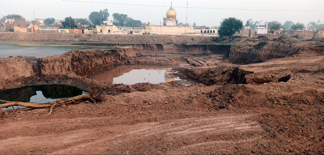 Illegal mining unchecked, Ghanaur loses over Rs 100-cr sand