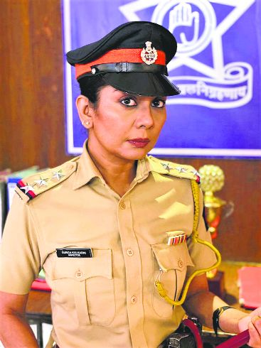 Manini Mishra to play a cop