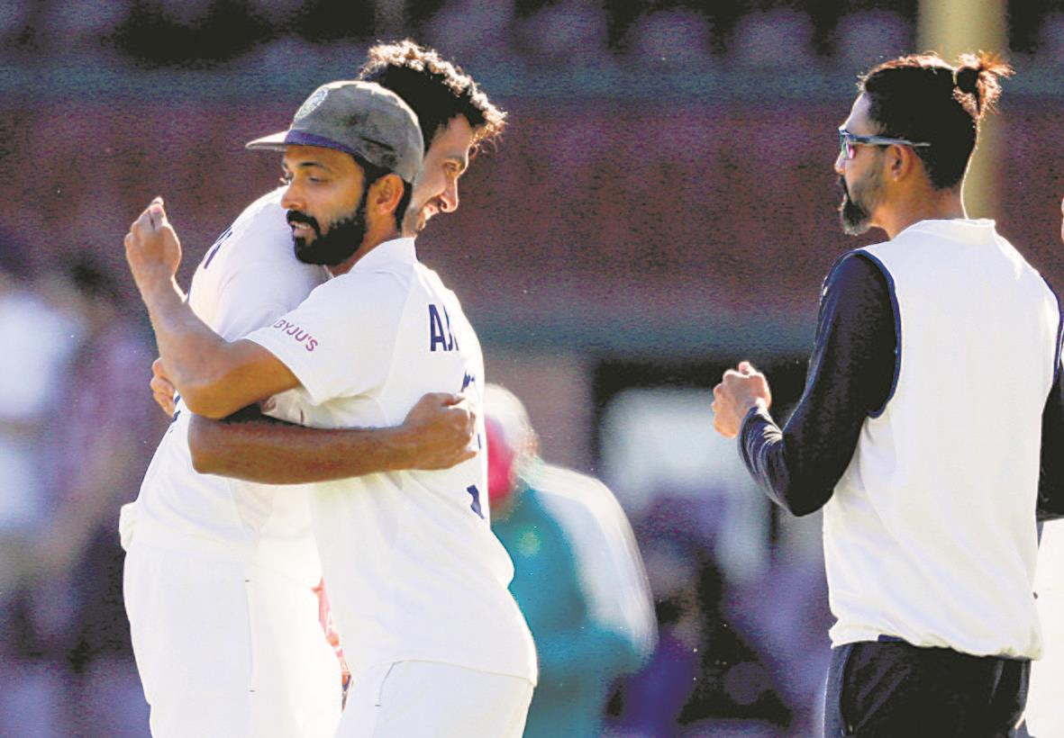 Vihari, Ashwin pull off memorable draw in Sydney