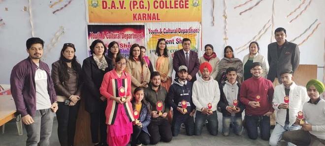 Talent hunt event at DAV college