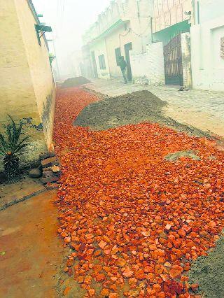 CMO steps in, work on Sangrur street resumes