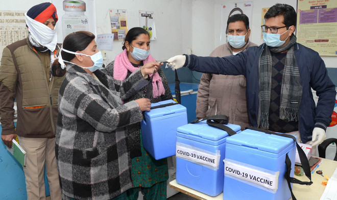 Vaccination at 59 sites, 5,900 to get jab today in Punjab