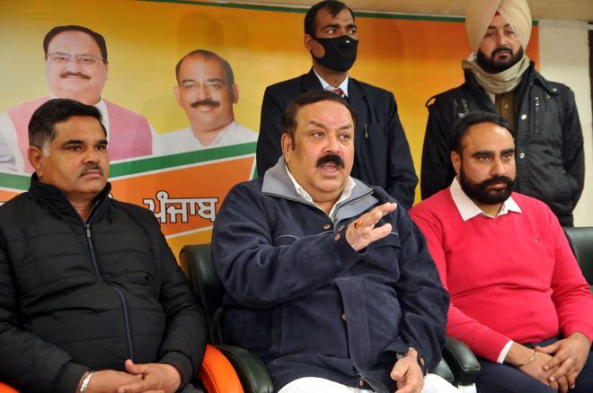 BJP's Shwait Malik raises concern over separate Jallianwala memorial