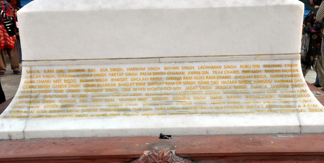 101 yrs on, 'official' list of 492 Jallianwala martyrs out