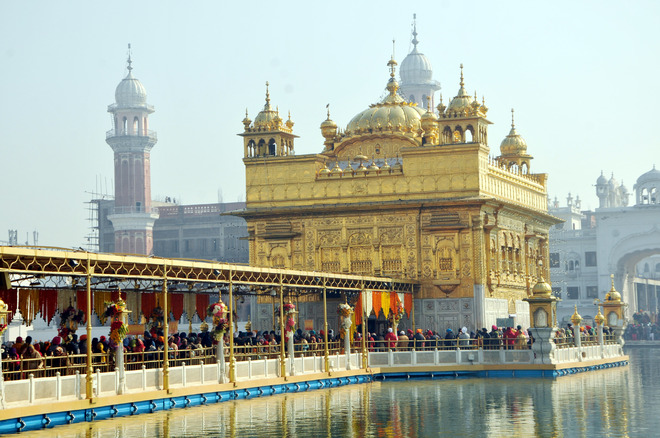 Nagar kirtan taken out to mark parkash purb of 10th Sikh Guru