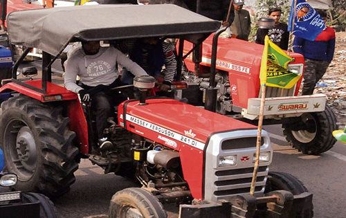 Thousands of tractors to leave for Delhi on Jan 20