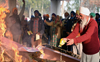 J&K martyr cremated with military honours