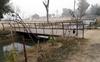 Illegal bridges erected over water channel in Bathinda