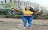 Amika Shail loves to fly kites