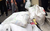 Over 4 quintals of plastic bags seized