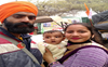 Chandigarh couple camps at Singhu with infant