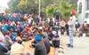 Punjabi University teachers, staff close gates over demands