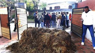 Farmers target BJP leaders across Punjab