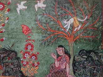 Bhagavata Purana, as Assamese artist saw it